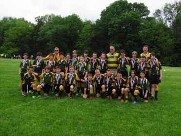 2015 DRFC U13 second place