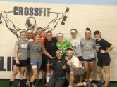 Doylestown Women's Team working out at Crossfit Lifeforce. 1/29/15